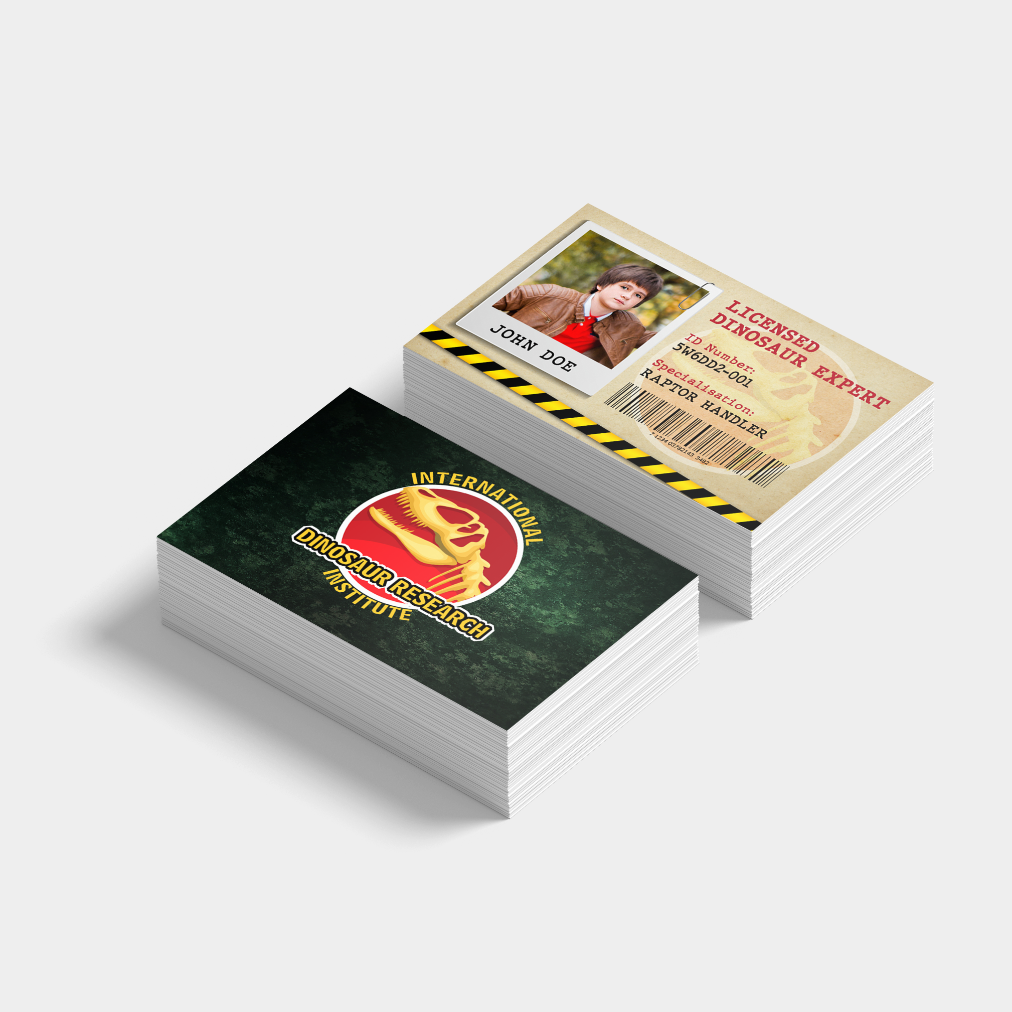 Dinosaur Explorer Namecards (85 x 55mm) - Starting from $16.00/ box of 100 cards