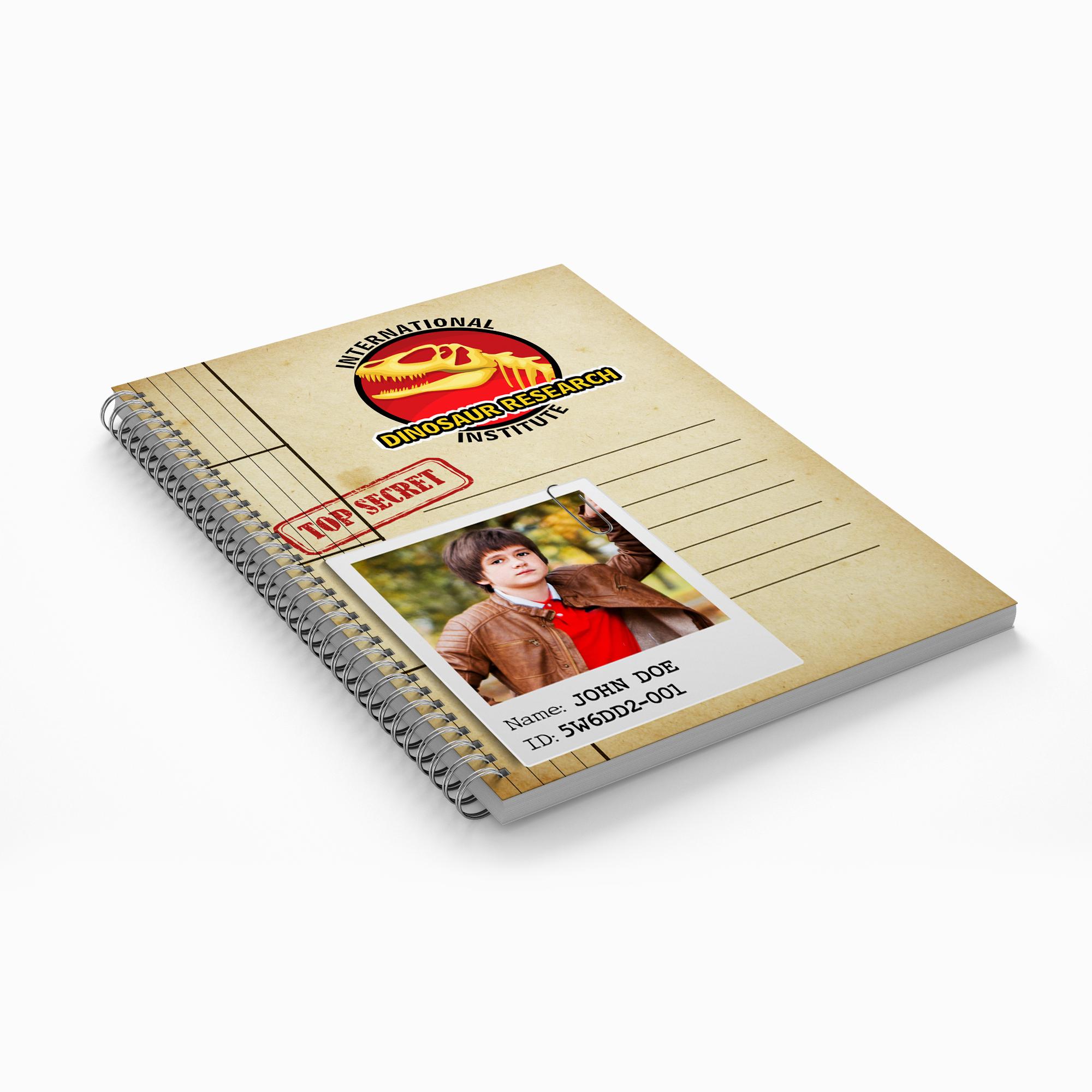 Dinosaur Explorer Notebook - $5.00