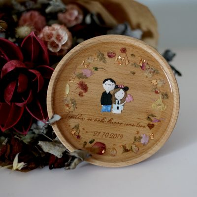 personalised clay art gift